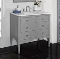 Charlottesville 36 Vanity - Light Gray