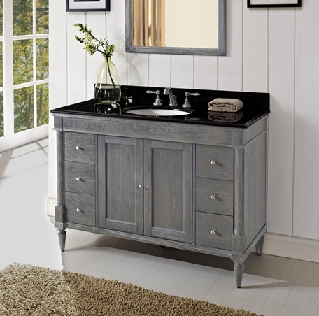 Rustic Chic 48 Quot Vanity Silvered Oak Fairmont Designs