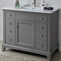 Smithfield 42 Vanity - Medium Gray