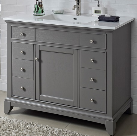 Smithfield 42 Vanity Medium Gray Fairmont Designs Fairmont Designs