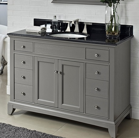 "Smithfield 48"" Vanity - Medium Gray - Fairmont Designs ..."