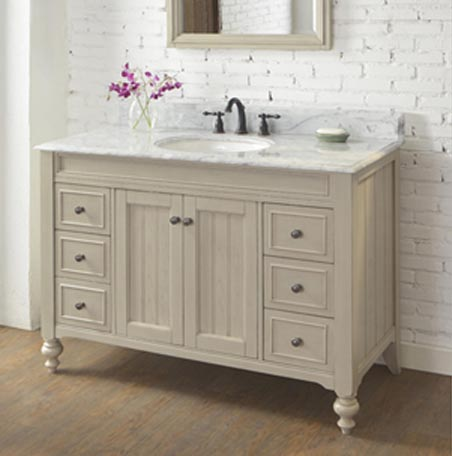 48 vanity with sink. Crosswinds 48  Vanity Slate Gray Fairmont Designs