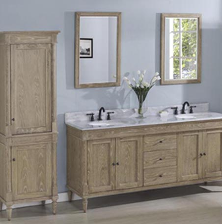 Vanity Weathered Oak 142 V7221d