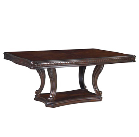 grand estates double pedestal table - fairmont designs - fairmont