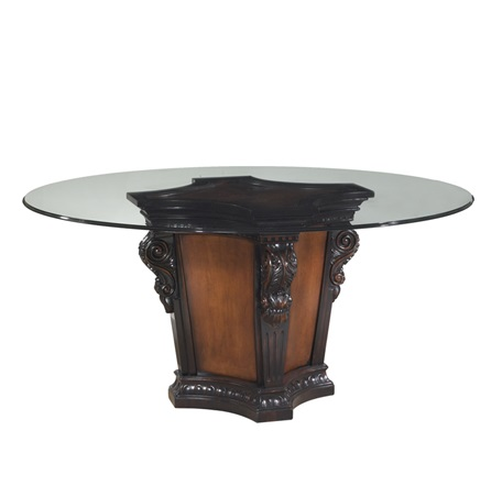 Grand Estates Pedestal Table Base