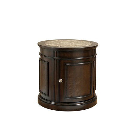 Beau Rosselyn Round Commode Table
