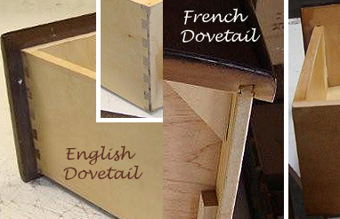 What Are The Differences Between English And French Dovetail on bedroom designs 2015