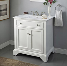 white 30 bathroom vanity framingham 30 quot vanity polar white fairmont designs 21378