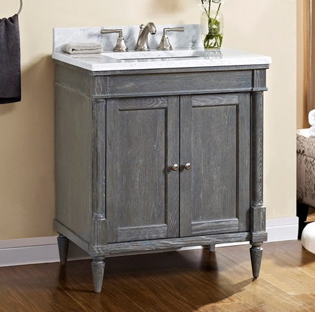 rustic chic bathroom vanity rustic chic 30 quot vanity silvered oak fairmont designs 20287