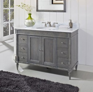 rustic chic bathroom vanity rustic chic 48 quot vanity silvered oak fairmont designs 20287